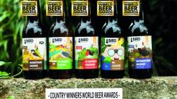 Bird Brewery wint 5 keer goud bij World Beer Awards