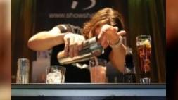 Flair bartending op HorecaEvenTT