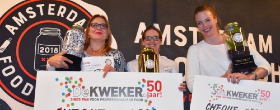 Winnaars Amsterdam Food Pitch bekend<