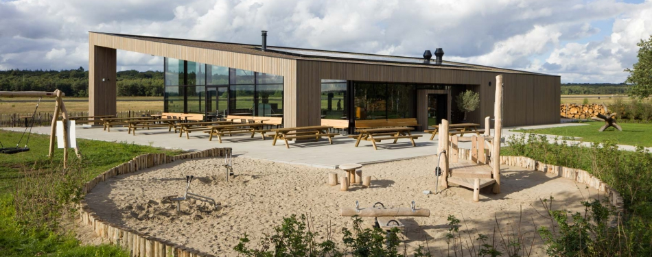 Café Restaurant Soesterdal: all-electric